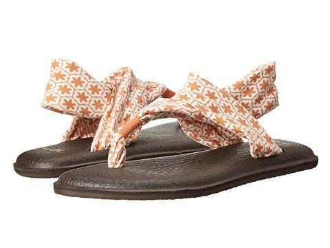 Sanuk Yoga Sling 2 Prints Melon Tile - 6pm.com. Pink ShoesShoes  SandalsYogaTile