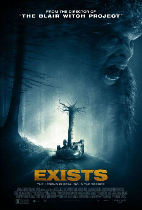 Exists 2014 R Action Horror Bruxa De Blair Cartazes De Filmes