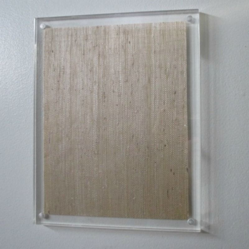 Hanging Magnet Frame Clear Acrylic Lucite Magnetic Hand Artwork ...