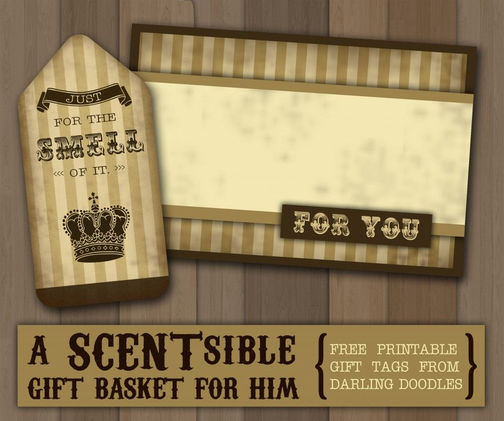 A scentsible gift basket for him free printable gift tags a scentsible gift basket for him free printable gift tags negle Gallery