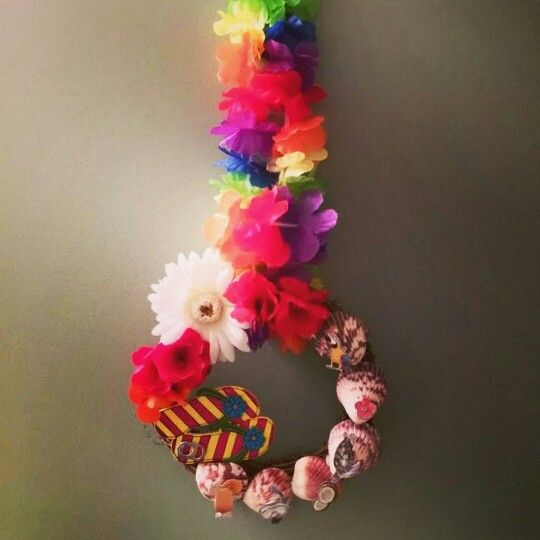 Margaritaville wreath  Follow Once Upon A Wreath on Facebook