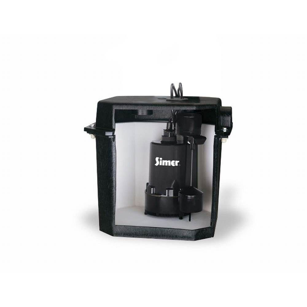 Simer 2925b 02 Self Contained Above Floor Under Sink Laundry Sink Sump Pump Sump Pump Laundry Sink