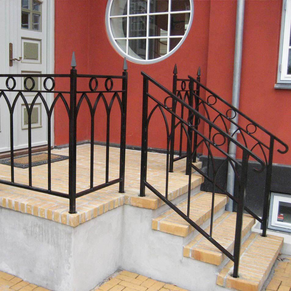Metal Handrails » Ironcraft Metal handrails, External