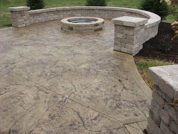 Klein S Lawn Landscaping Hardscapes Concrete Concepts Concrete Patio Designs Decorative Concrete Patio Stamped Concrete Patio
