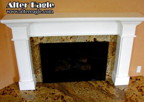 Custom Made Fireplace Mantels And Surrounds