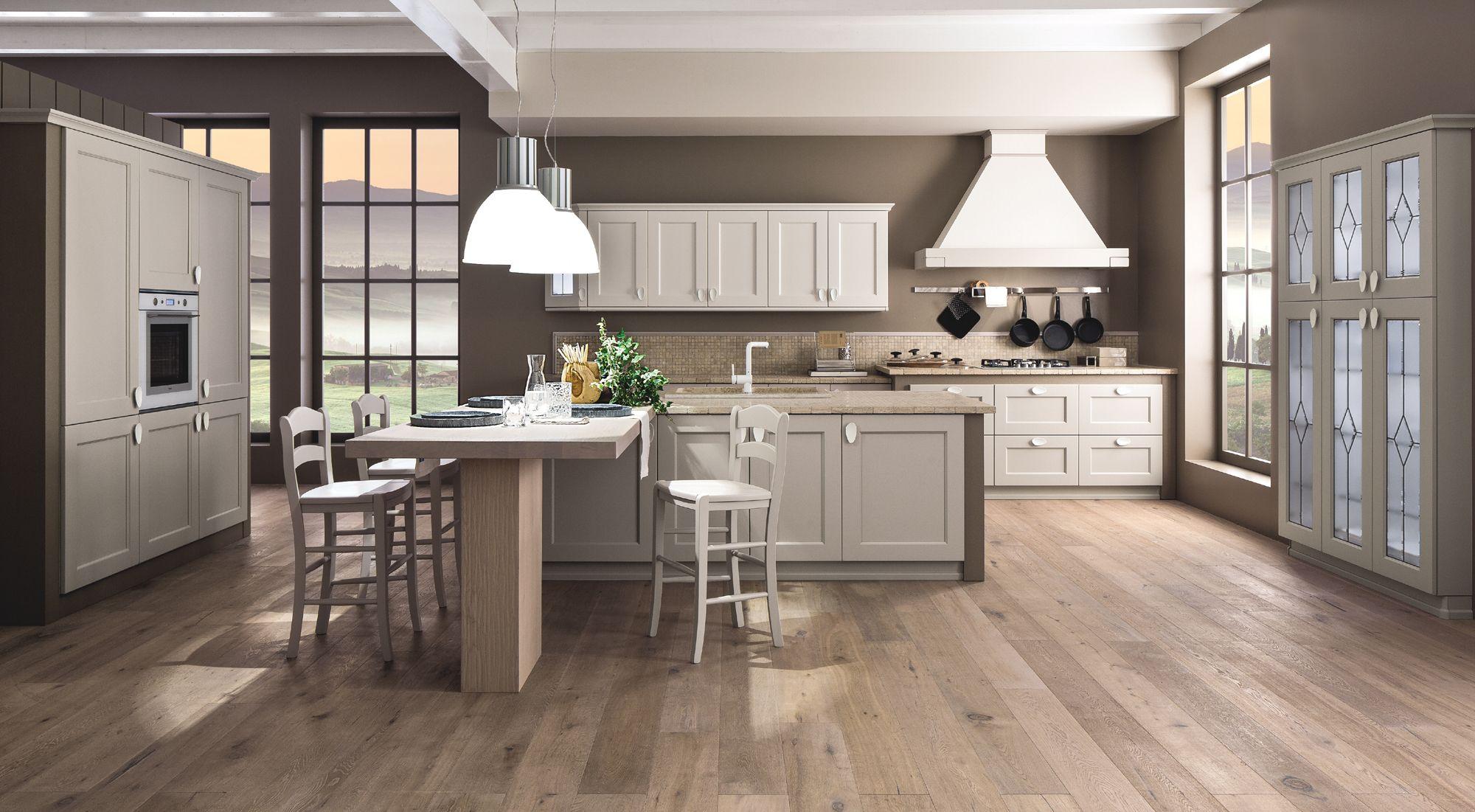 Cucina Arrex in stile classico dal design contemporaneo | cocina ...