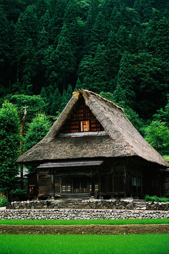 Gokayama-Gasshozukuri Sounenji Temple, Japan