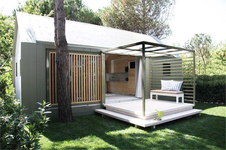 Menta mobile home prefab drogtrot treviso italy for Dogtrot modular homes
