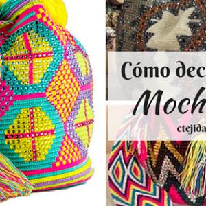Tutorial #73: Cómo tejer una mochila Wayúu a Crochet - Completo | CTejidas [Crochet y Dos Agujas]