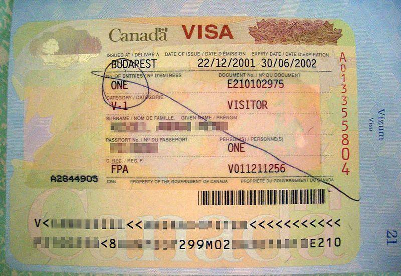 for Temporary Resident Visa (TRV) in Canada - canadavisa resume builder