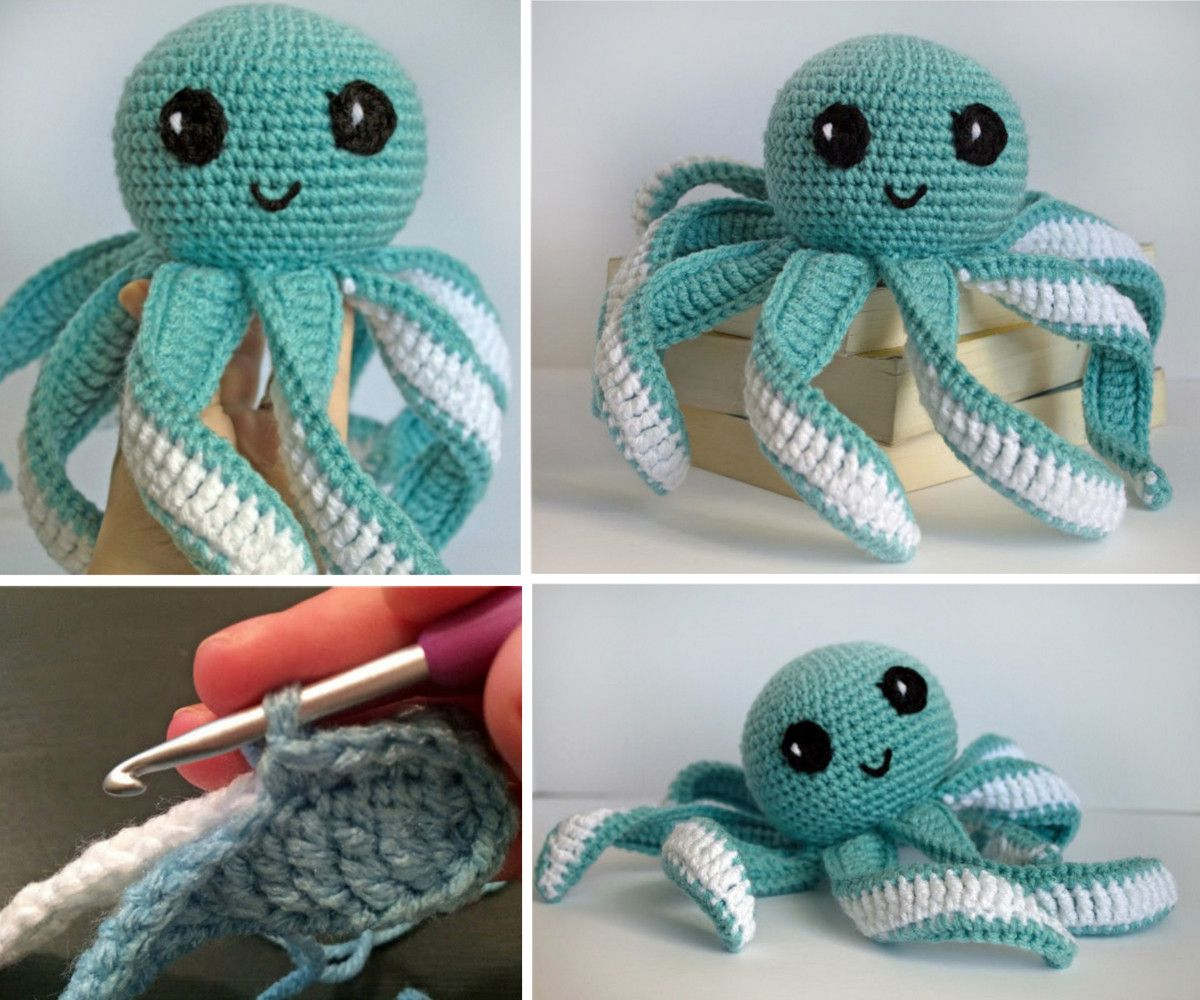 Crochet jellyfish with free pattern video instructions crochet crochet jellyfish with free pattern video instructions bankloansurffo Choice Image
