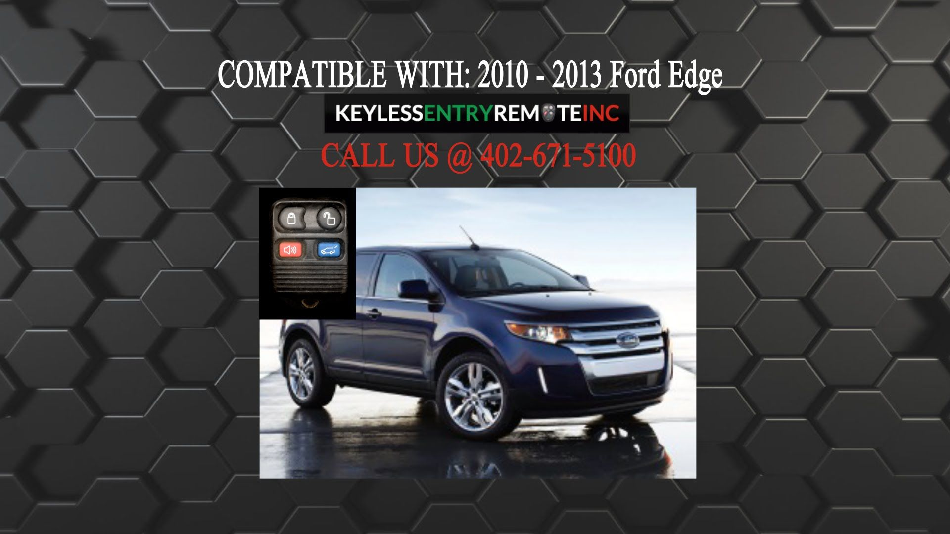 How To Replace Ford Edge Key Fob Battery 2007 2014 Ford Edge