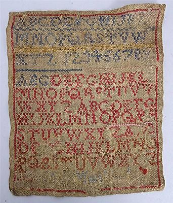 #Victorian antique silkwork #embroidery sampler circa 1850 #tapestry b,  View more on the LINK: 	http://www.zeppy.io/product/gb/2/371268014522/