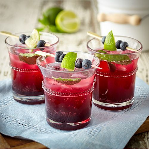 Blueberry Mojito Mocktail #blueberrymojito Blueberry Mojito Mocktail - Stonewall Kitchen #blueberrymojito