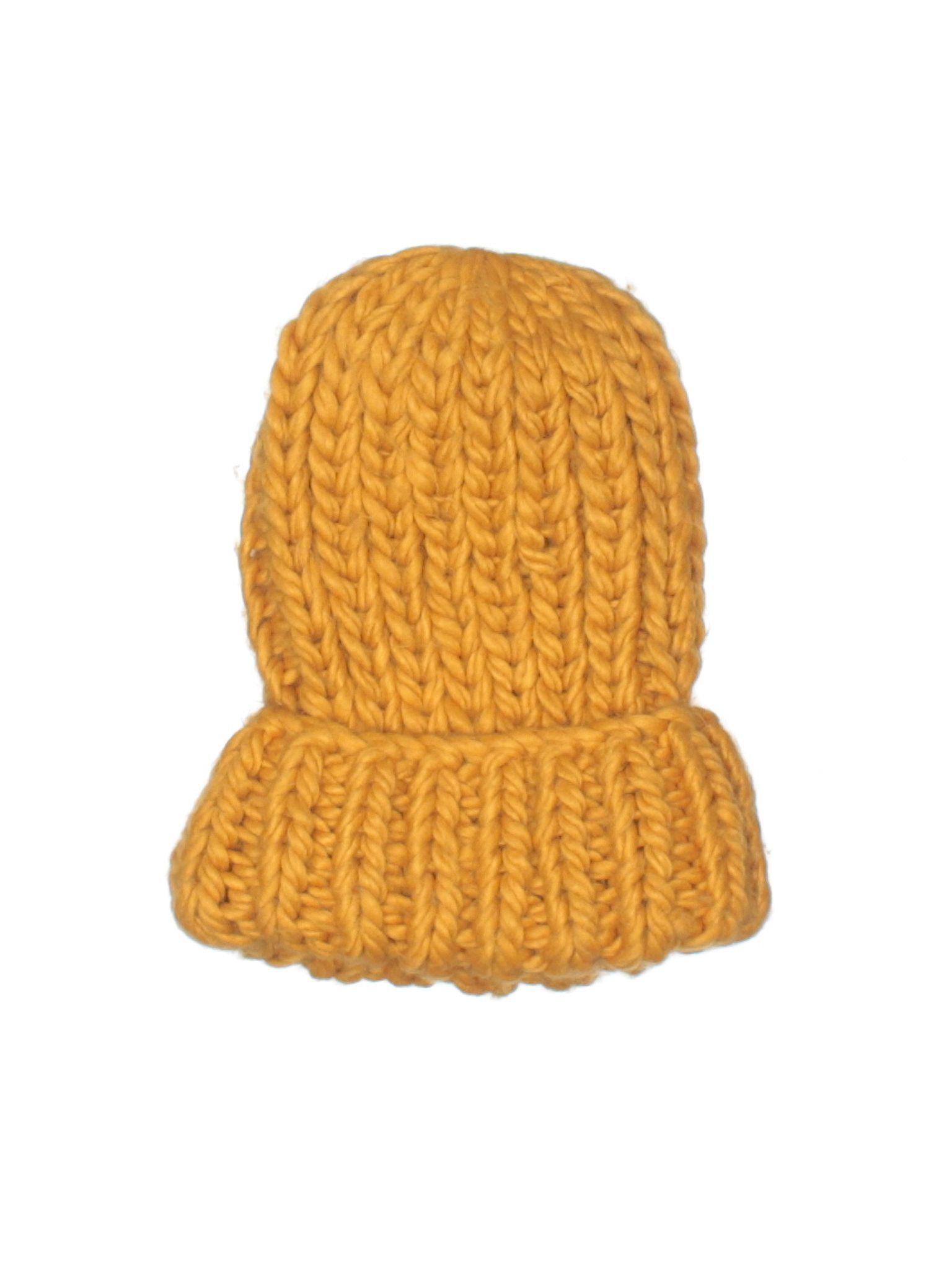 Zara Beanie  Size 0.00 Dark Yellow Women s Accessories -  13.99 ... 62b11640280