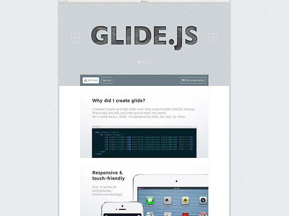 Glide js – Light & responsive jQuery slider | Technology