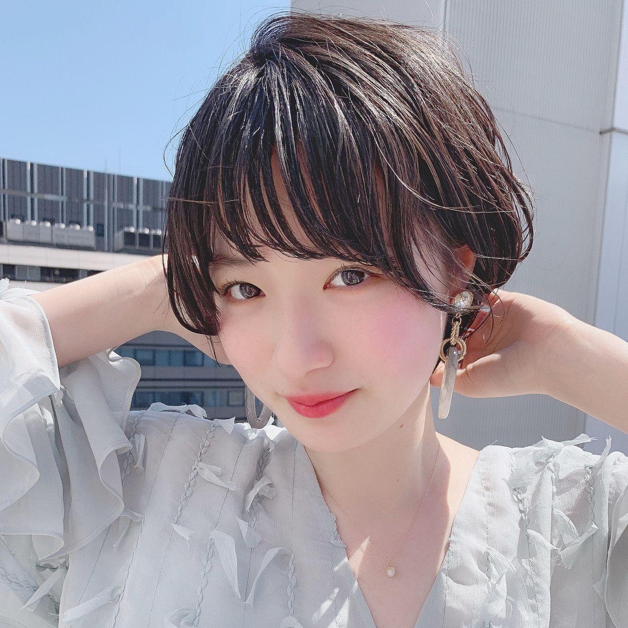 パーマ スポーツ ショート デート Sand Omotesando 阿比留 奨太 Sand 466811 Hair 2020 結婚式 ショート ヘア