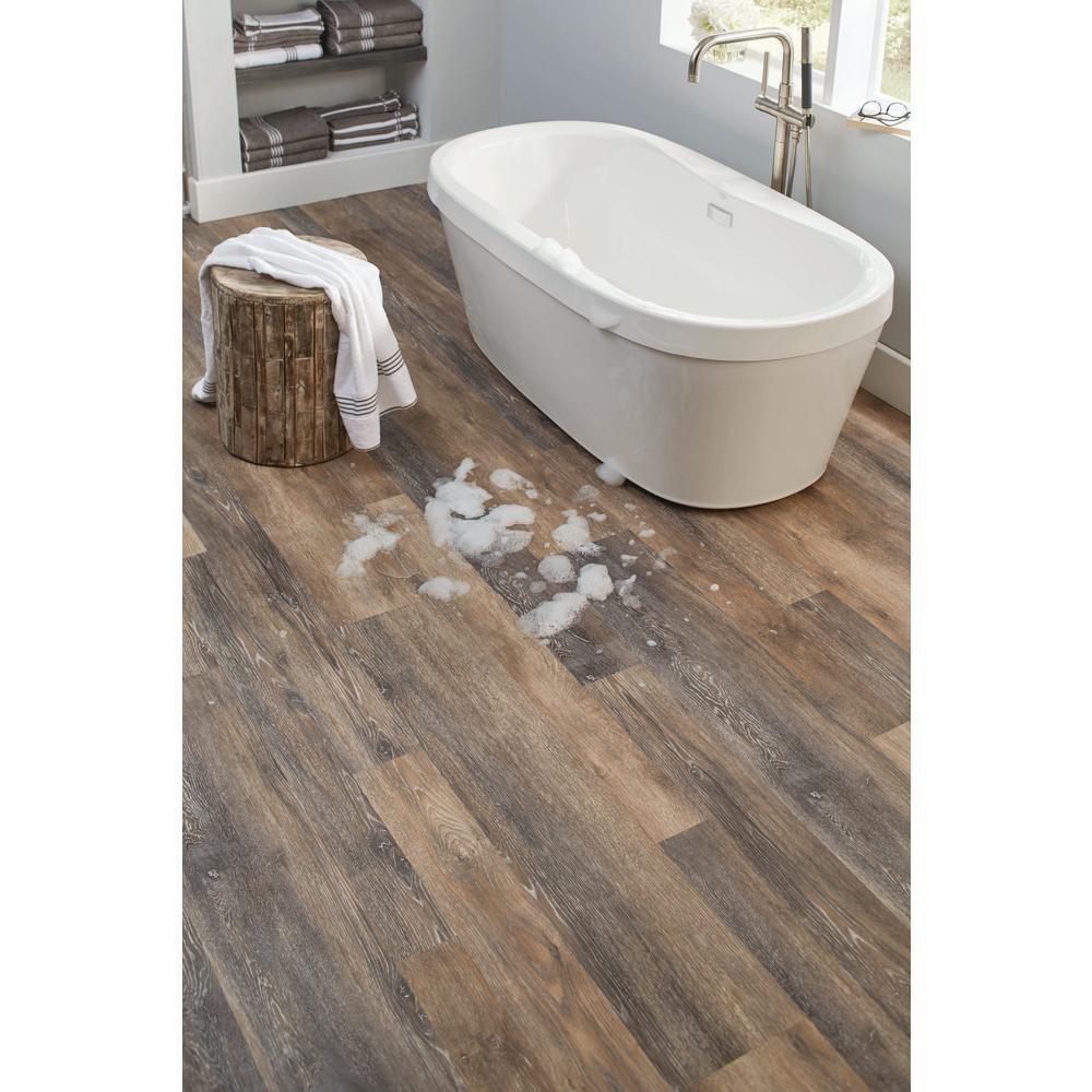 vynilfloorbathroom in 2020 Luxury vinyl plank flooring