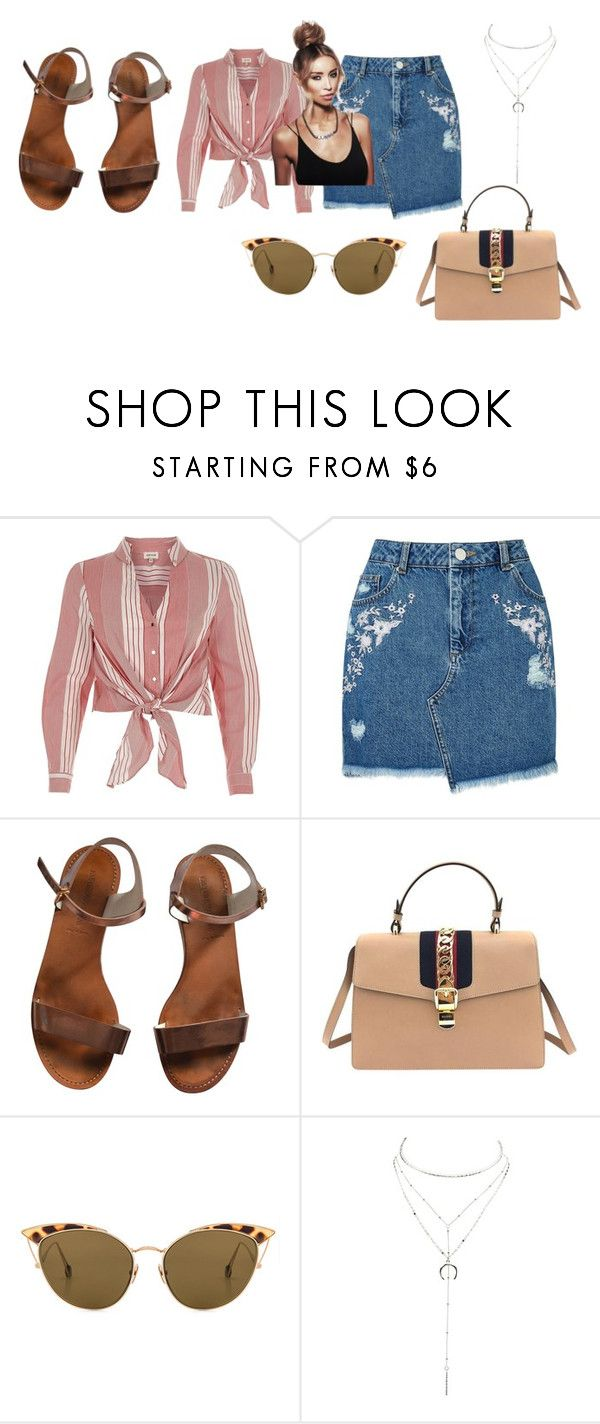 """Lauren touch of essex"" by blackeye4 on Polyvore featuring River Island, Miss Selfridge, Emporio Armani, Gucci, Ahlem and Charlotte Russe"