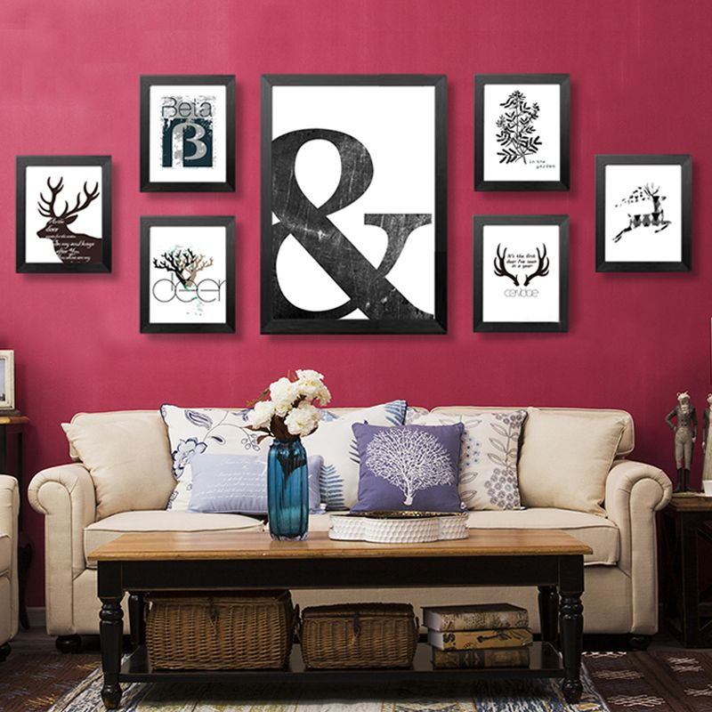 Framed Decorative Art Quality Frame Hangers Directly From China Picture Decoration
