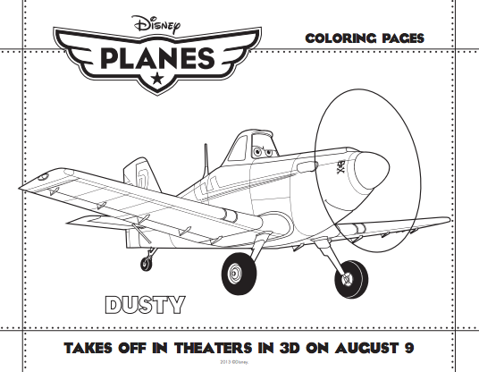 Disney Planes Is Coming Plus Free Coloring Pages