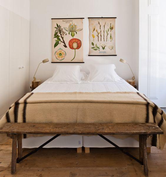 Main bedroom in Fronteira apartment, Baixa House    www.baixahouse.com