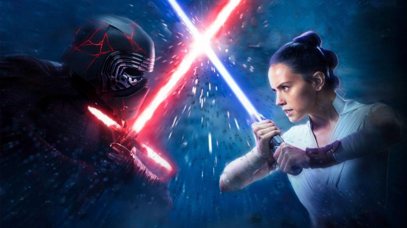 1366x768 Lead Characters The Rise Of Skywalker 2019 Wallpaper Star Wars Watch Star Wars Episodes Star Wars Wallpaper