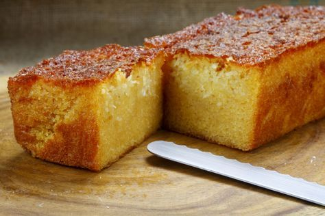 utty, toasty flavor and the powdered sugar, used for dusting the buttered loaf pan, caramelizes the edges and gives it a sugary sweet bite that eliminates the need for any added icing. Try it as a morning tr