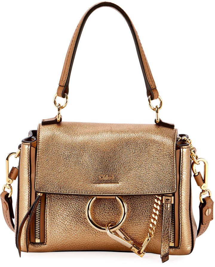 b93976d71 Chloé Faye Day Mini Metallic Satchel Bag in 2019 | Products ...