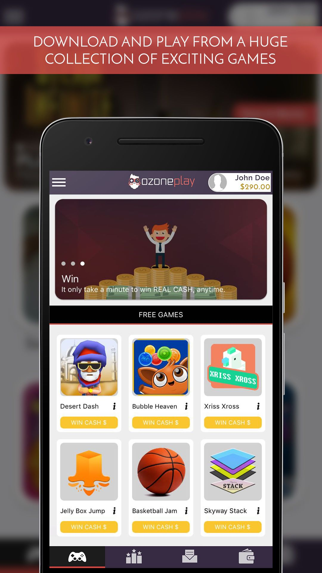 Play Games For Real Money - Download Apps That Earn You Cash