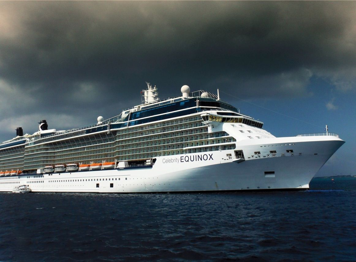 Celebrity Equinox Anchored With Images Princess Cruise Lines