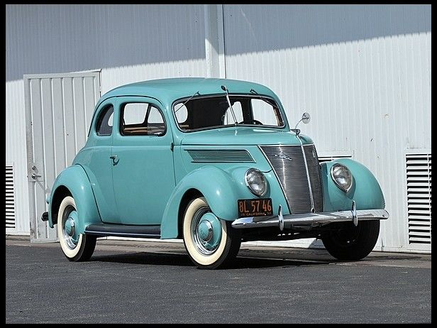 1937 Ford Club Coupe 221 85 Hp 3 Speed At Mecum Auctions Ford Classic Cars Ford Convertible Classic Cars Trucks
