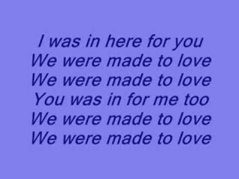 How i've always felt with Shannon... and still do ▶  - Made to love [ lyrics on screen ] - YouTube