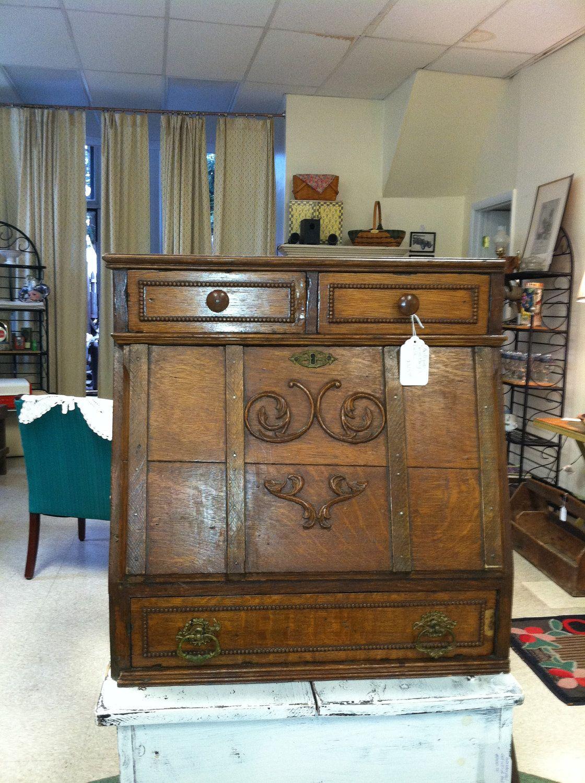 Vintage Secretary Desk. - Vintage Secretary Desk. Boxes Etc. Pinterest Secretary Desks