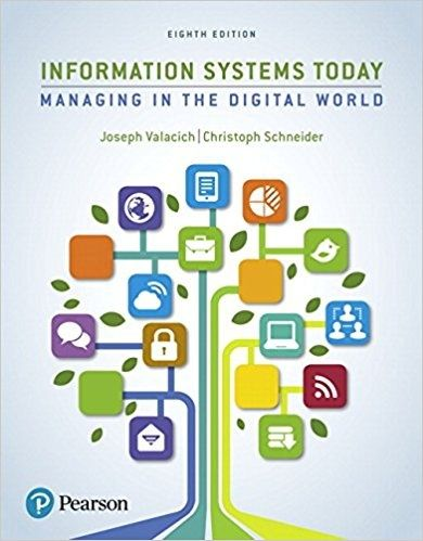 Information systems today managing in the digital world 8th information systems today managing in the digital world 8th edition pdf instant download textbook fandeluxe Choice Image
