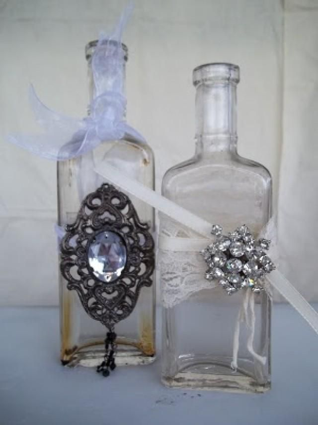 diy weddings crafts glas gef e pinterest. Black Bedroom Furniture Sets. Home Design Ideas