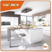2015 new modern design built in handle style kitchen cabinet