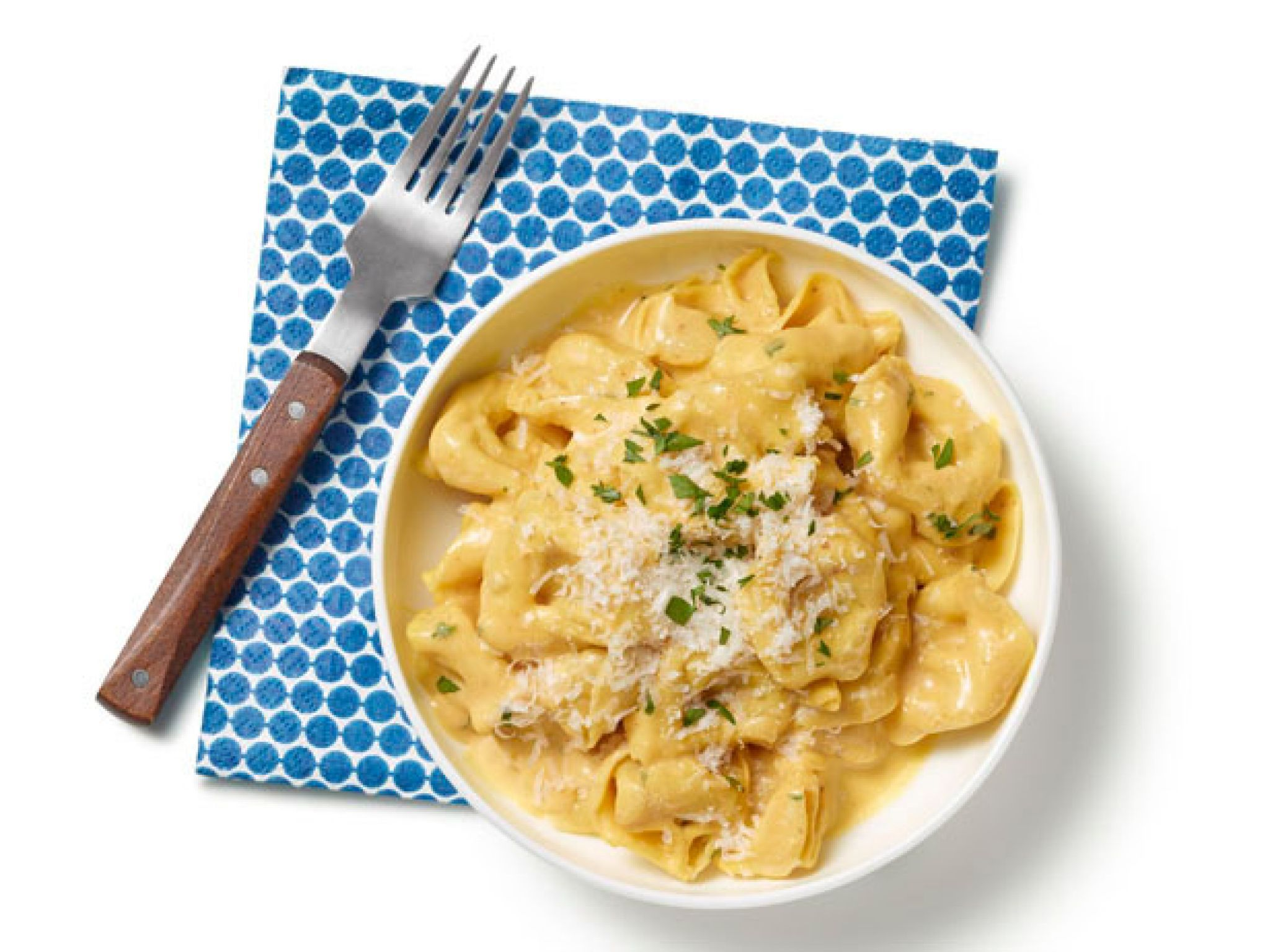 tortellini with pumpkin alfredo sauce | recipe | pasta's | pinterest