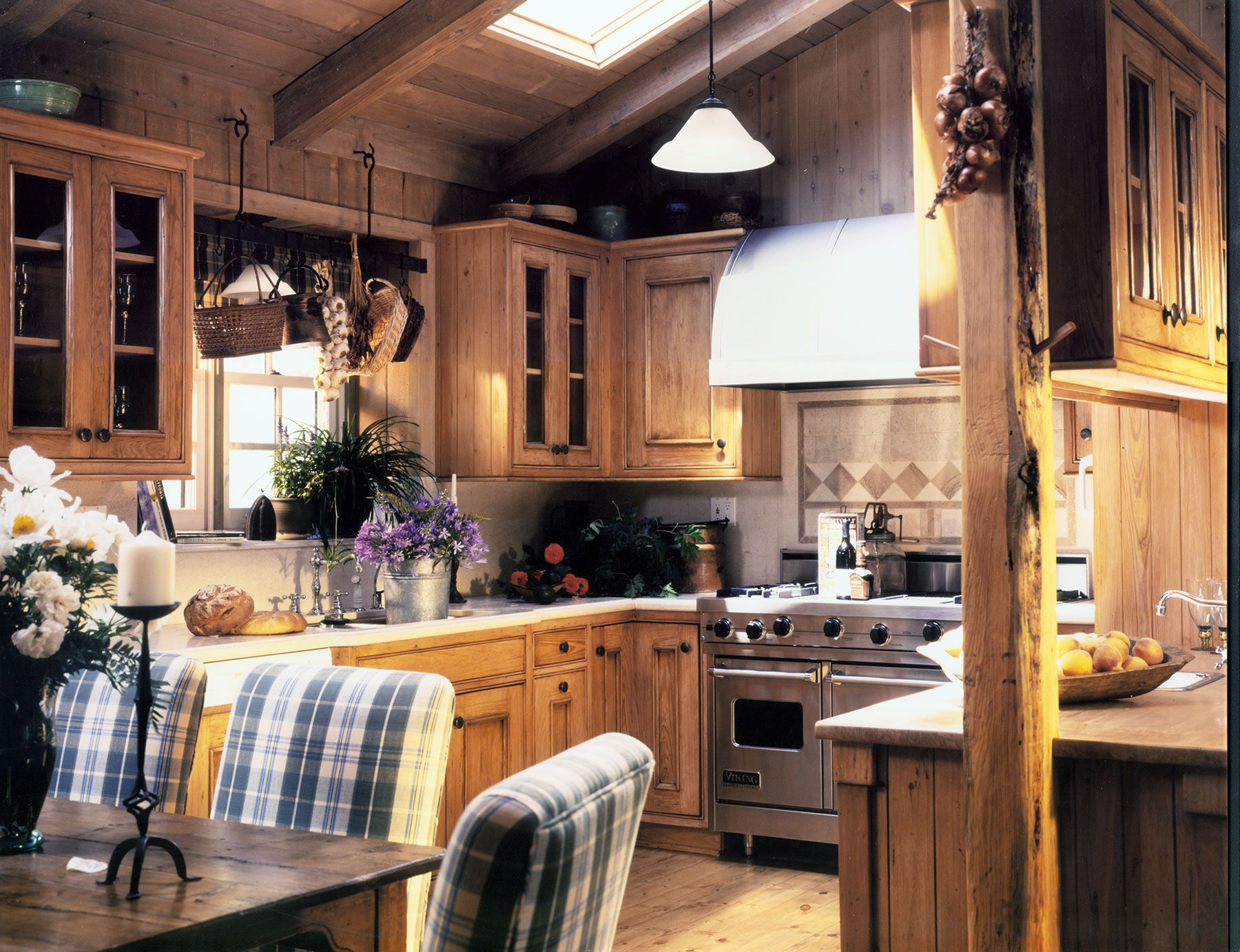 old farmhouse style kitchen maraya interior design with natural pine cabinets and posts no on farmhouse kitchen small id=99723