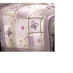 Nebraska Furniture Mart – Cocalo Inc Sugar Plum Fitted Sheet - Floral Print