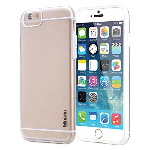 iPhone 6 Plus Case - Poetic Apple iPhone 6 Plus Case [Atmosphere Series] - Slim-Fit Transparent Hybrid Case for Apple iPhone 6 Plus (5.5-inch) Clear/White (3-Year Manufacturer Warranty from Poetic) Poetic http://www.amazon.com/dp/B00NG4JVCU/ref=cm_sw_r_pi_dp_Xp8wub03EZ8A2