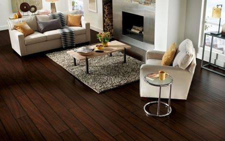 These Extra Long Extra Wide Laminate Flooring Planks Add A Dramatic