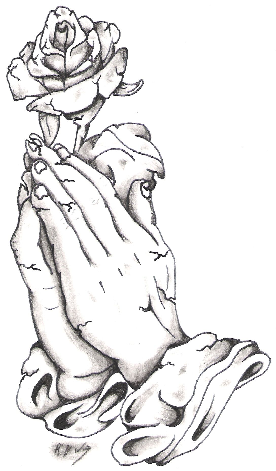 Prayer hands tattoos designs - Prayer Hands I Would Love To Get