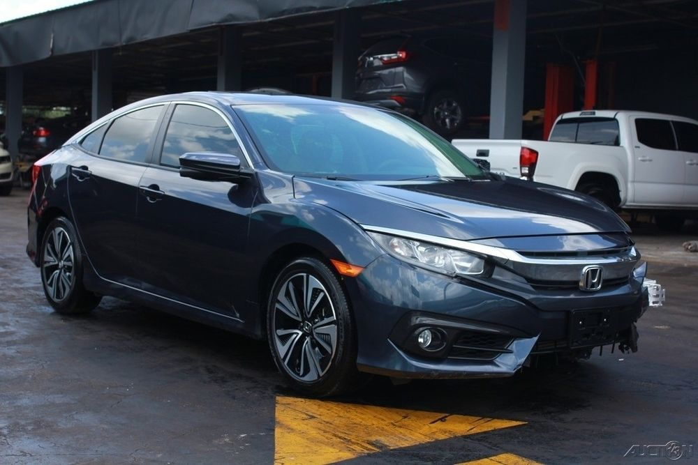 T And T Repairables >> Ebay 2017 Honda Civic Ex T 4dr Sedan Cvt 2017 Ex T 4dr