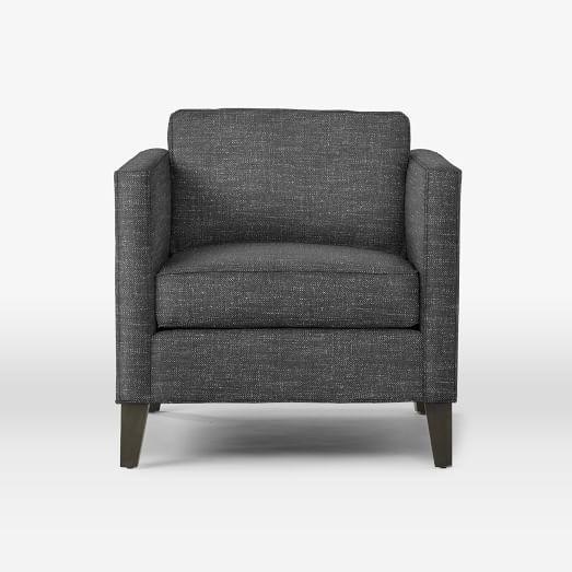 Dunham Down Filled Armchair   Boxed | West Elm