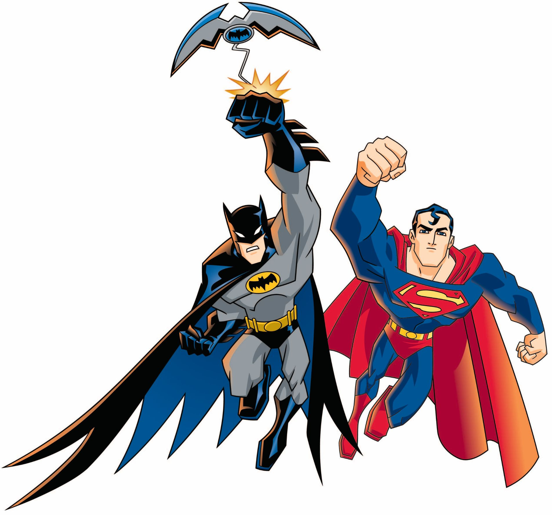 pictures of cartoons | Superman on The Batman animated series ...