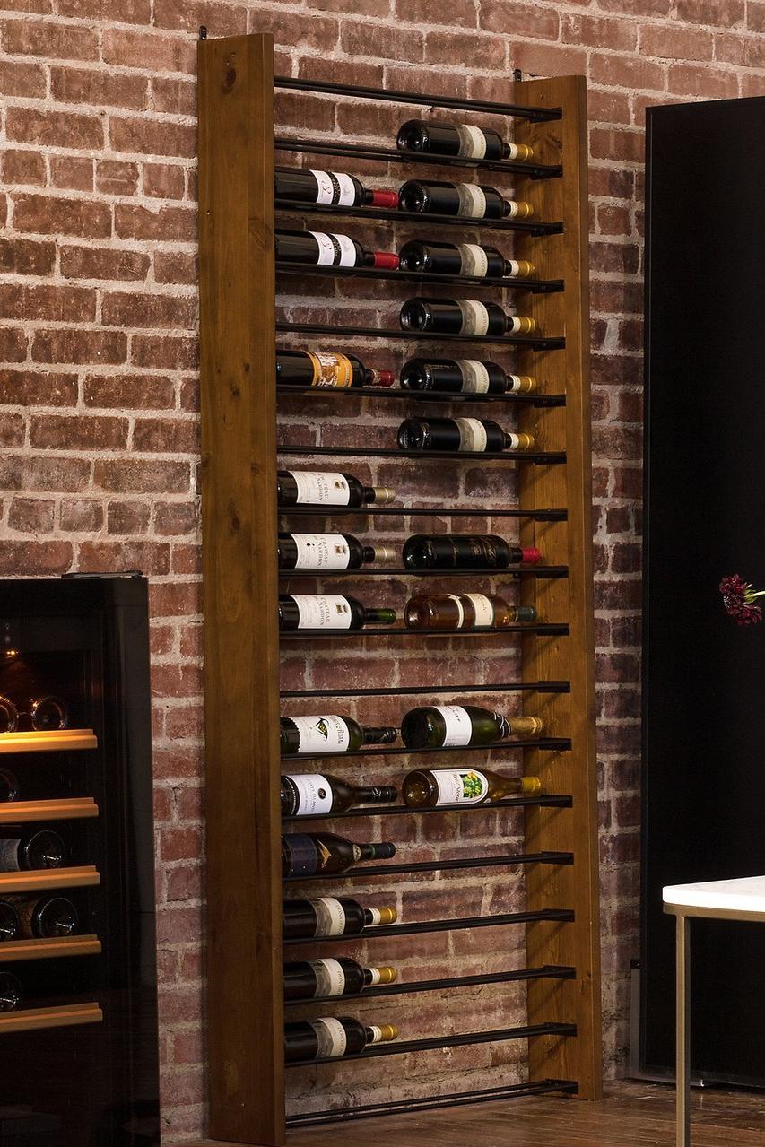 "WINE CELLAR Reclaimed Wood Shelf Sign Vintage Rustic Winery Bar Pub Decor 12/"""