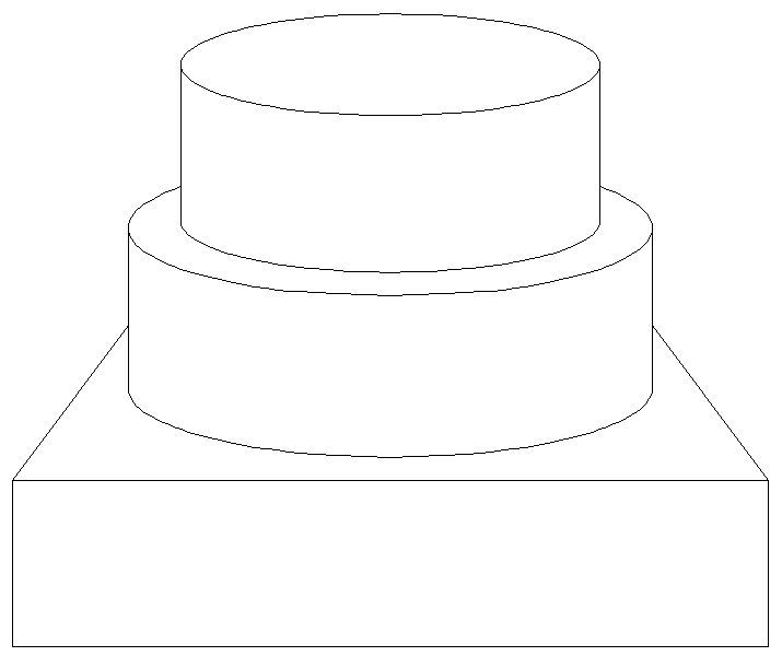 2 tier on square requested by culinarycreations