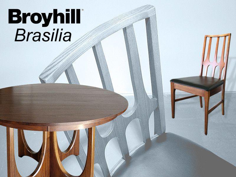 Completely Restore Vintage Broyhill Brasilia Dining Table