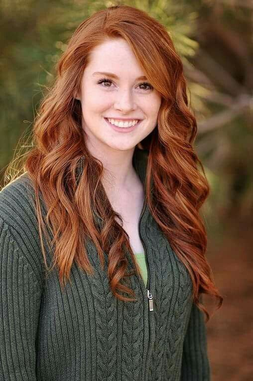 Pin by Angel Santana on Redheads | Beautiful red hair, Red haired beauty,  Pretty redhead